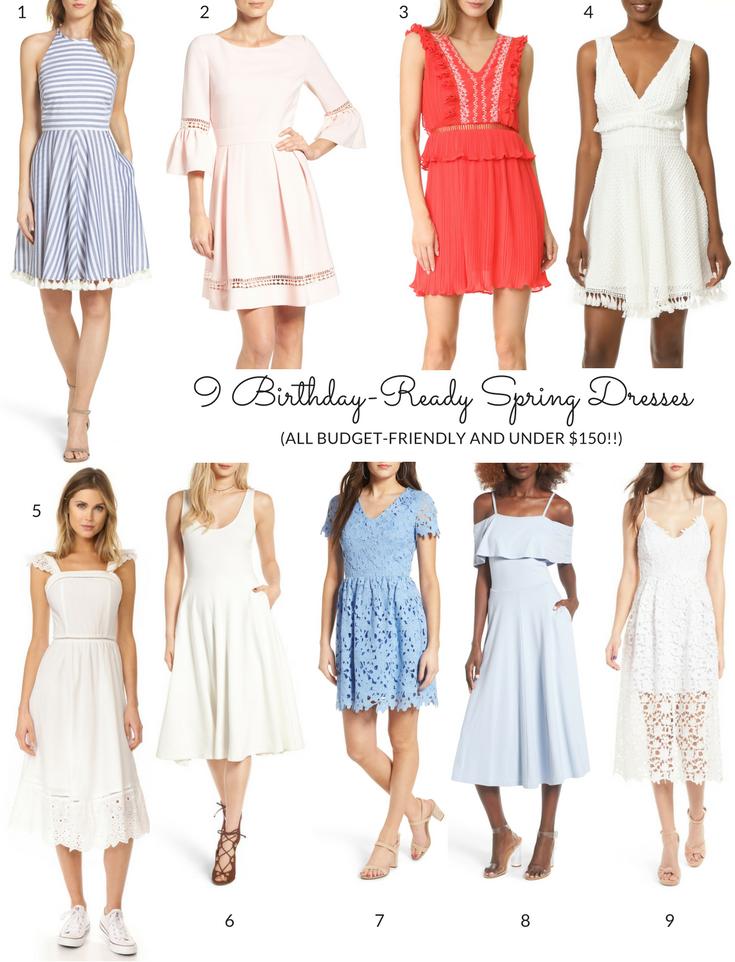 9 Birthday-Ready Spring Dresses Under $150