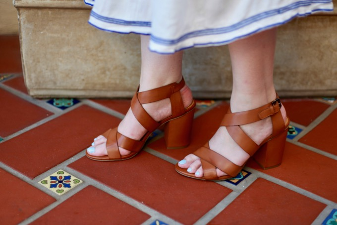Comfortable Strappy Sandals for Summer Under $100
