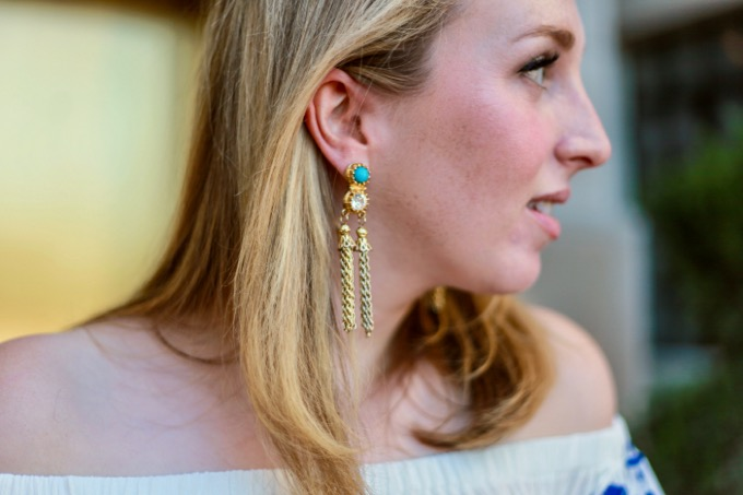 Lilly Pulitzer Tasseled Earrings