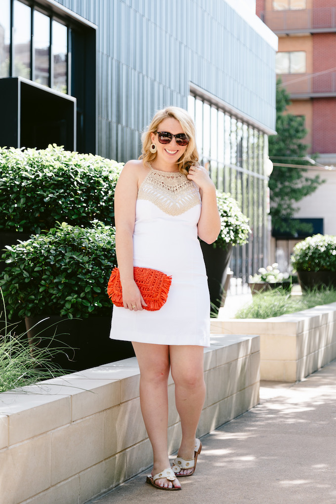 Perfect White Dress for Summer