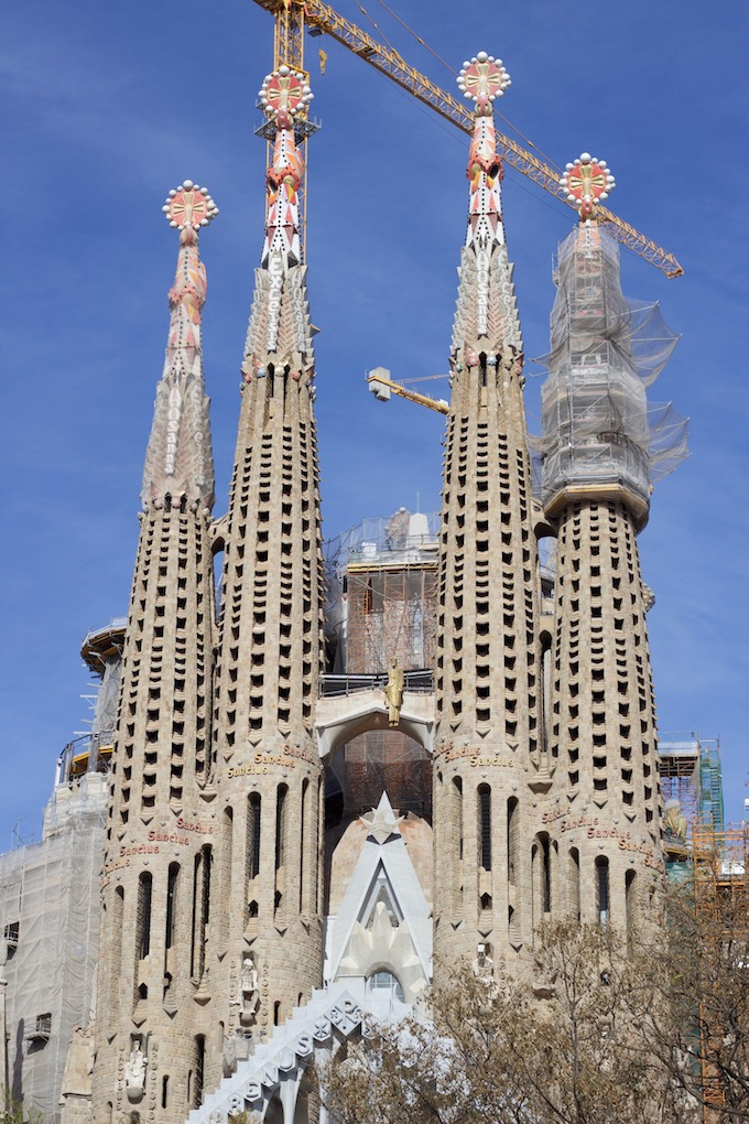 What to do in Barcelona - La Sagrada Familia