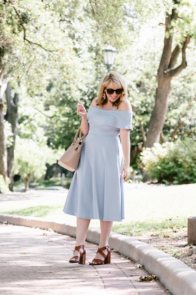 Blue Summer Dress under $100