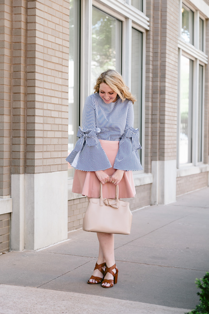 Chicwish Bow-Sleeve Top