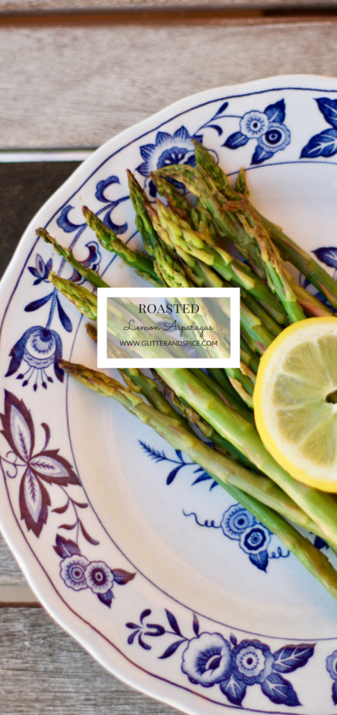 Roasted Lemon Asparagus Recipe