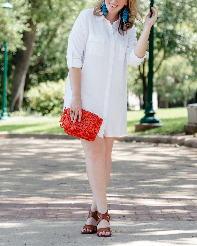 Comfy summer heeled sandals