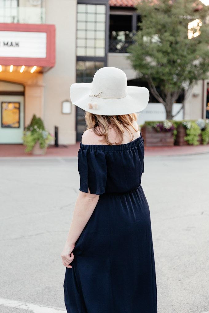 Tobi What the Pom Pom Faux Suede Hat