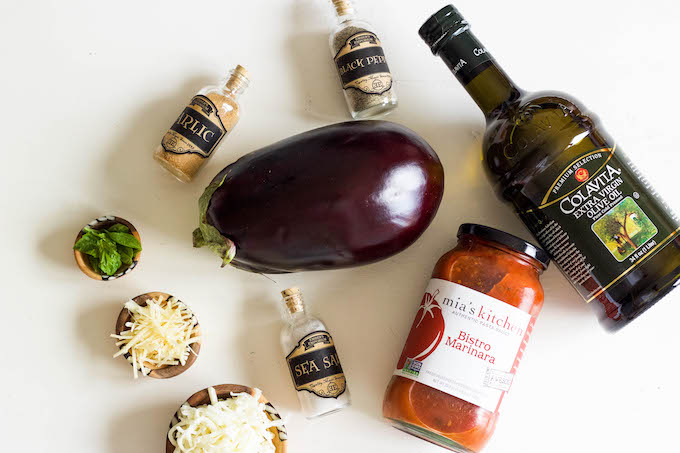 What ingredients do you need to make eggplant parmesan