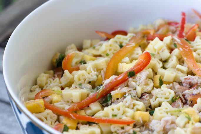 Best Crab Pasta Salad | Imitation Crab Pasta Salad Recipe