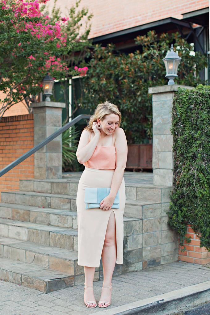 Semi-Formal vs. Formal, Tight Midi Dress