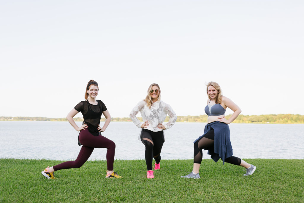 Exercise for Curvy Girls from a Curvy Blogger, how to do a lunge
