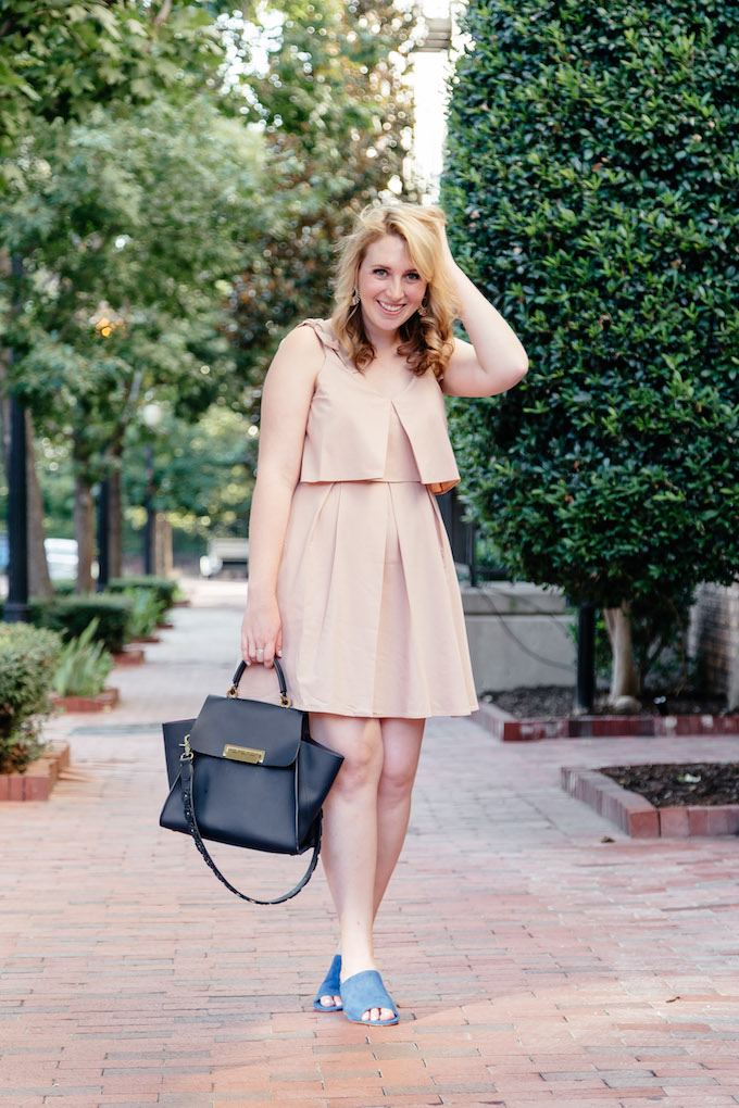 J.O.A. Ribbon Tie Flare Dress in Nude, How to Maintain a Long-Distance Friendship
