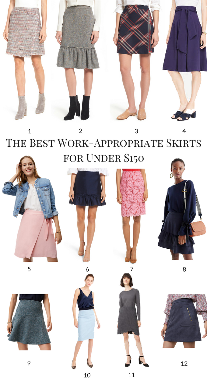 The Best Work-Appropriate Skirts for Under $150
