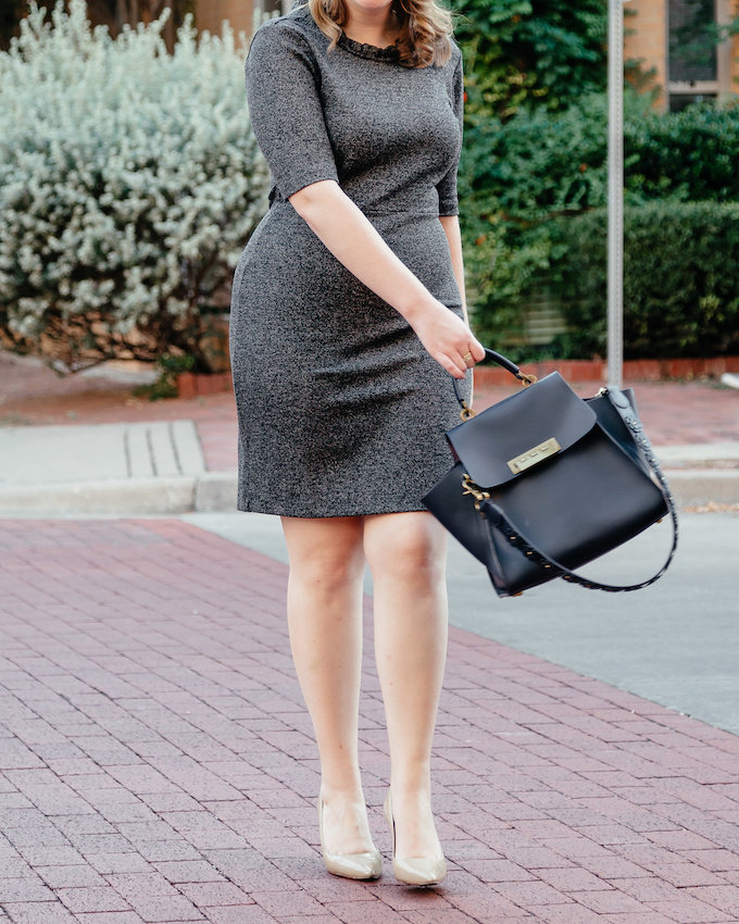 Dressing for an interview curvy female