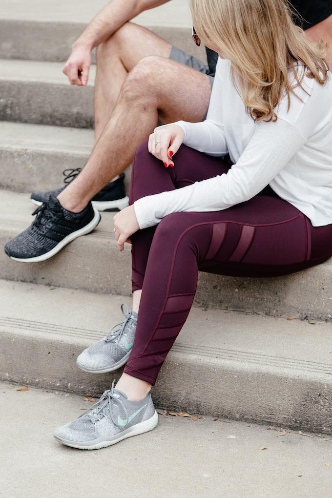 Athleta Purple Pants