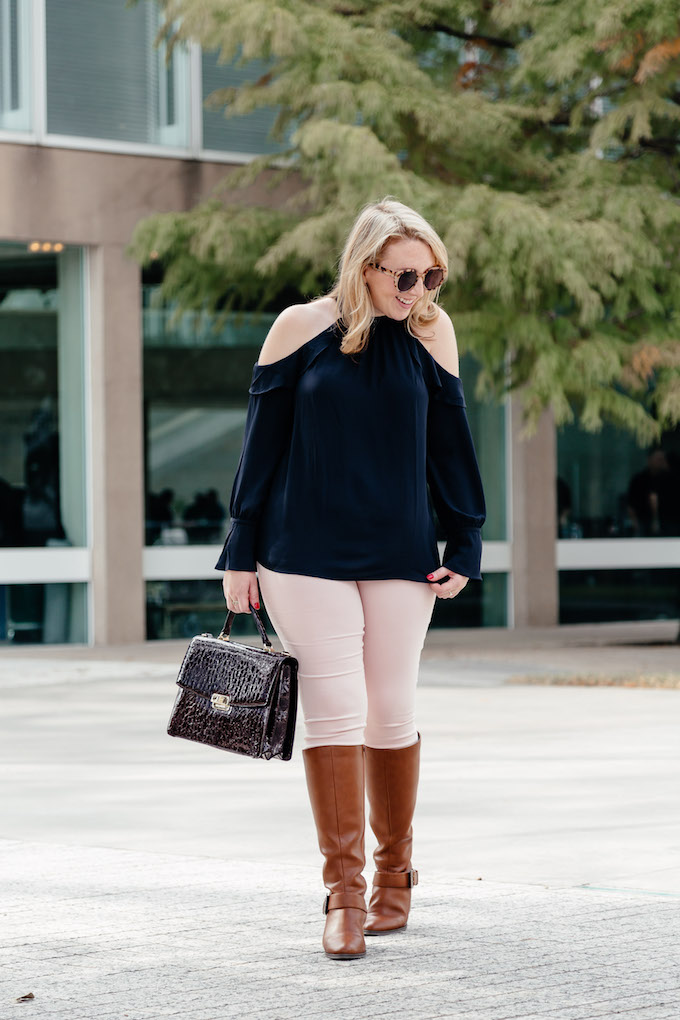 Comfy colored jeans