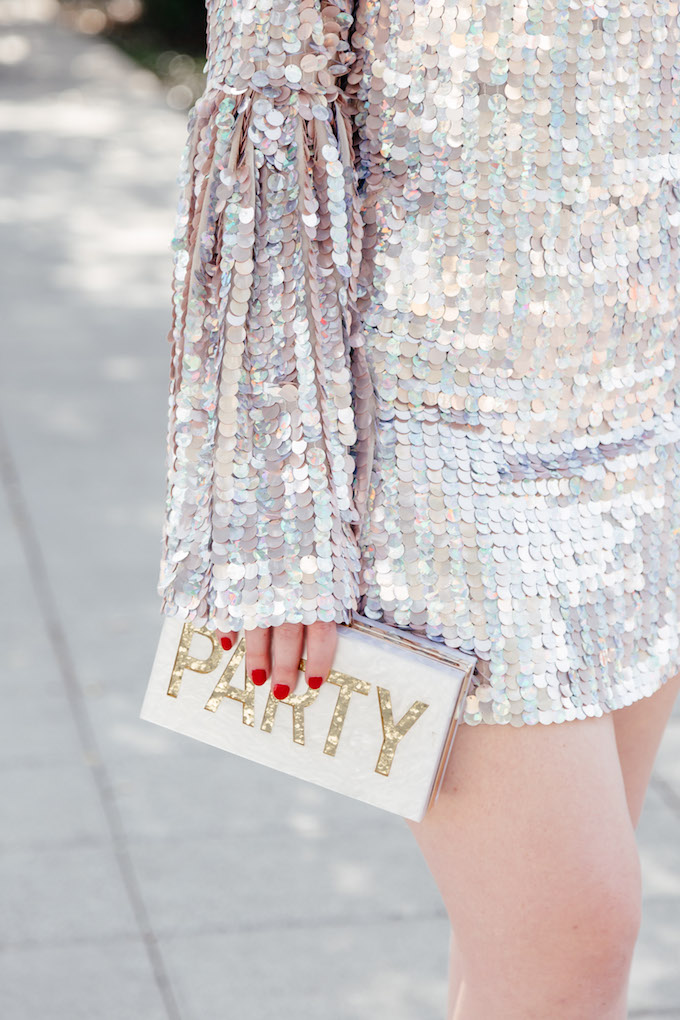 Party Clutch for New Year's Eve