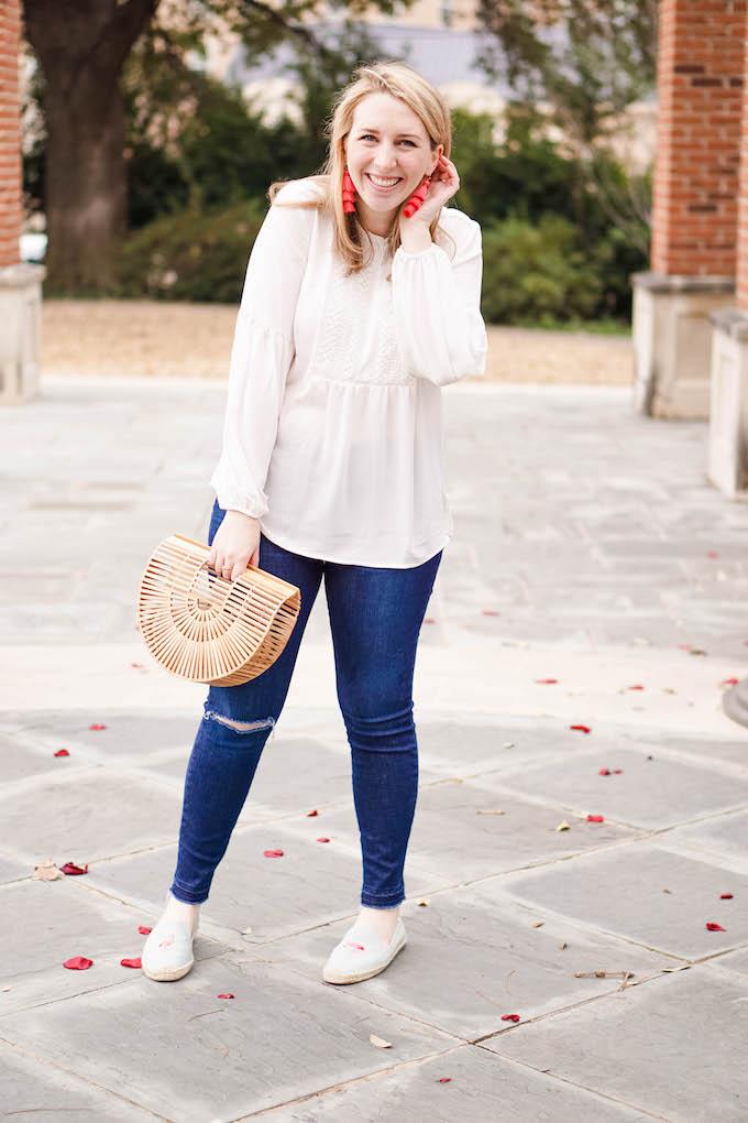 Comfy jeans for spring