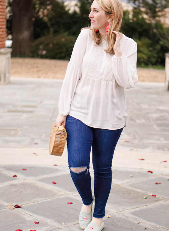 How to Dress for Spring in Texas (Because It's Hard, Y'all!), Soludos Espadrilles with Flamingos