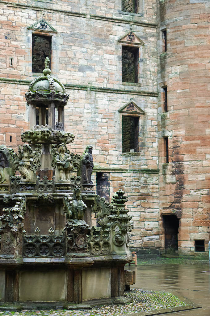 Linlithgow palace, Outlander Tour in Edinburgh, Jacobite uprising sites
