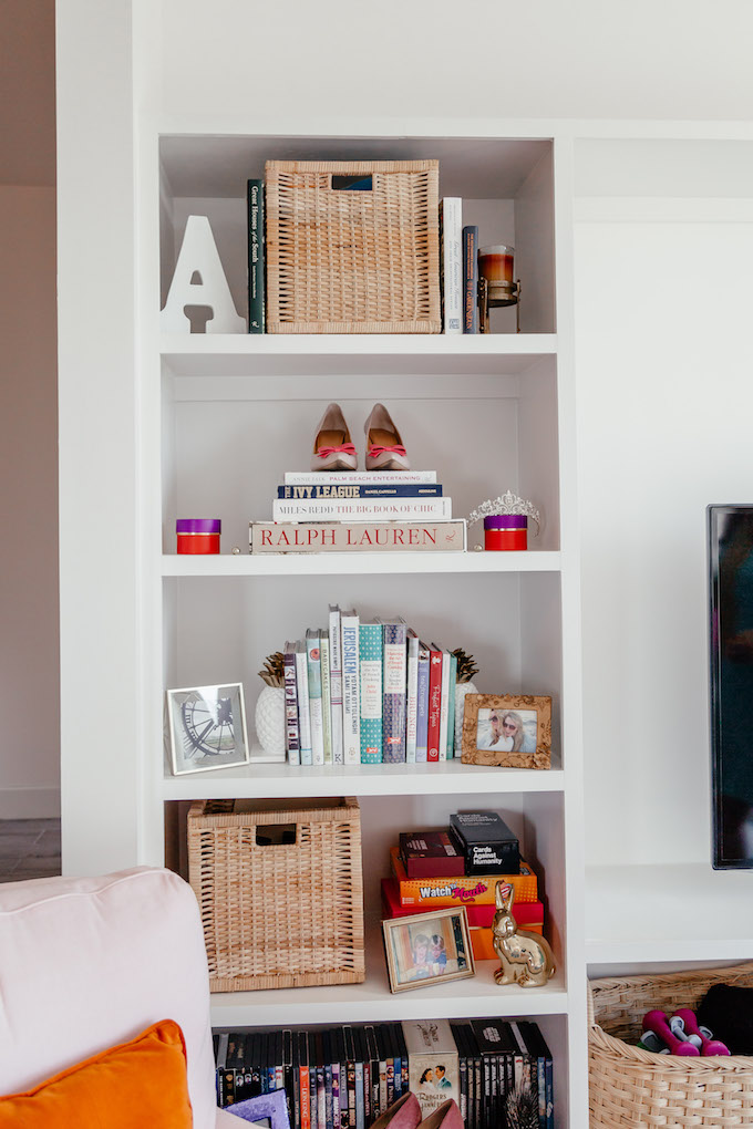 Shelfie Style, How to Style a Bookshelf, How to Style a Built-In, Best Way to Display Coffee Table Books