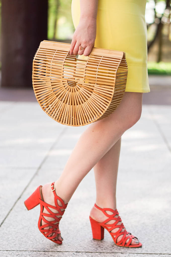 Vince Camuto Norla Strappy Block-Heel Sandals, Where to Buy Vince Camuto for Less, Cute Summer Sandals With a Heel, Coral Sandals