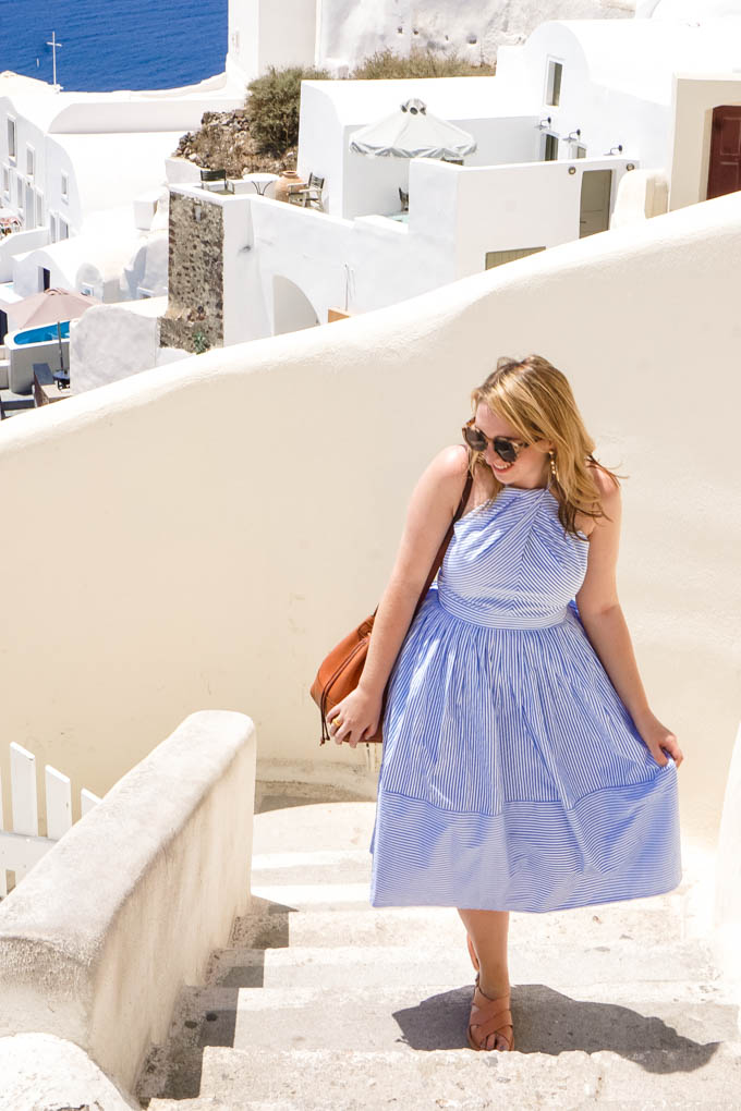 Best of Gal Meets Glam Dress Collection | Striped Summer Dresses | Cute Outfit for Summer in Greece | What to Wear in Greece in the Summer