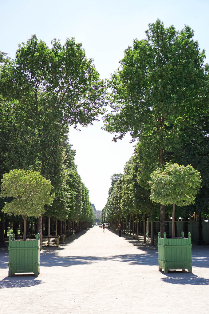 Most Photogenic Places in Paris: the Tuileries, Instagrammable Spots in Paris