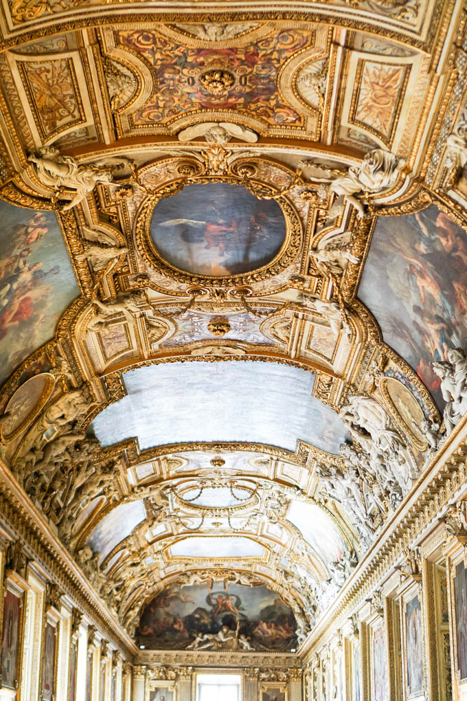 Beautiful Ceilings in the Louvre
