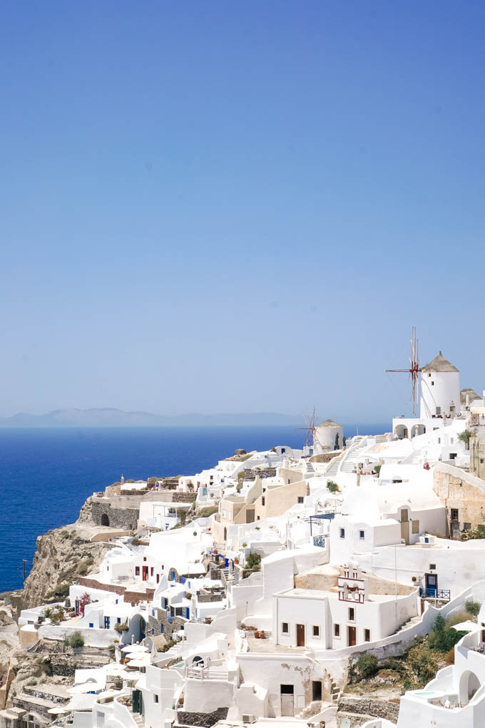 The Windmills on Santorini | Most Beautiful Places in Greece | Where to Go on a Honeymoon in Greece