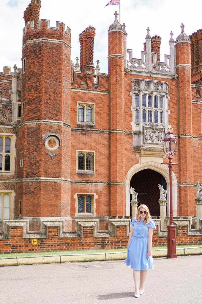 Day Trips from London | How to Visit Hampton Court Palace | Where to Escape Tourists in London via Travel Blogger, Glitter & Spice
