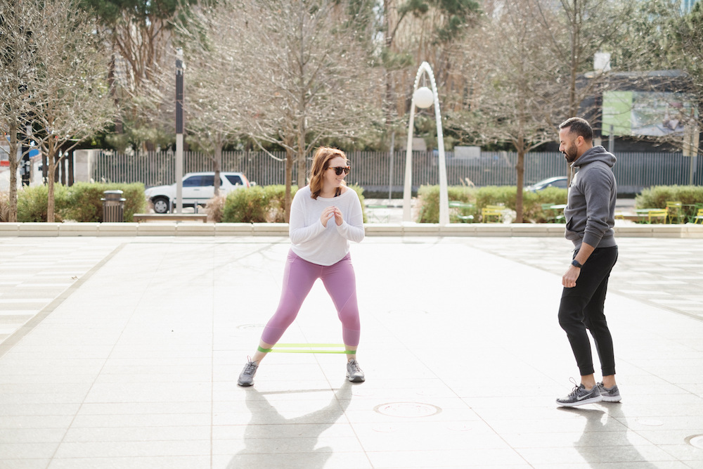 5 Moves to Tone Your Butt - Banded Lateral Walk | Best Moves for a Better Butt