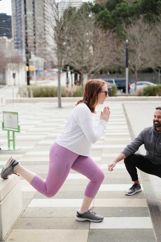 Bulgarian Split Squat | My Favorite Workouts that Tone Glutes | No-Equipment Workout Idea