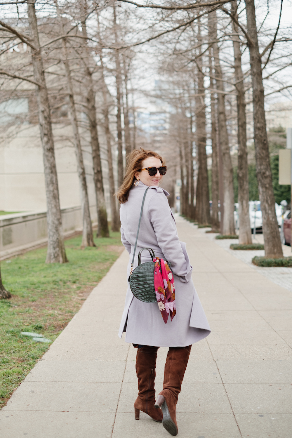 Fun Winter Activities for Adults | What to Do on a Cold Saturday Night with Friends | Badgley Mishka Coat | How to Style a Colorful Coat via Lifestyle Blogger, Glitter & Spice