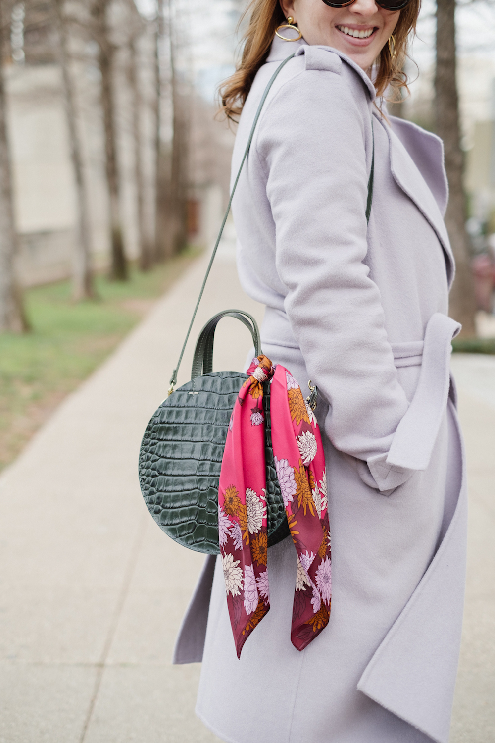 How to Wear a Silk Scarf | How to Add Color to Your Winter Wardrobe | How to Add Color to Your Outfit