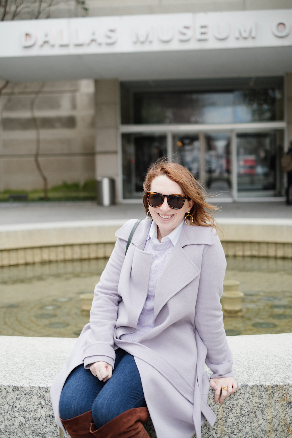 Free Things to Do When It's Cold Outside | Cool Things to Do Inside | Halogen x Atlantic Pacific Cable Knit Sweater | How to Layer the Same Color via Lifestyle Blogger Glitter & Spice