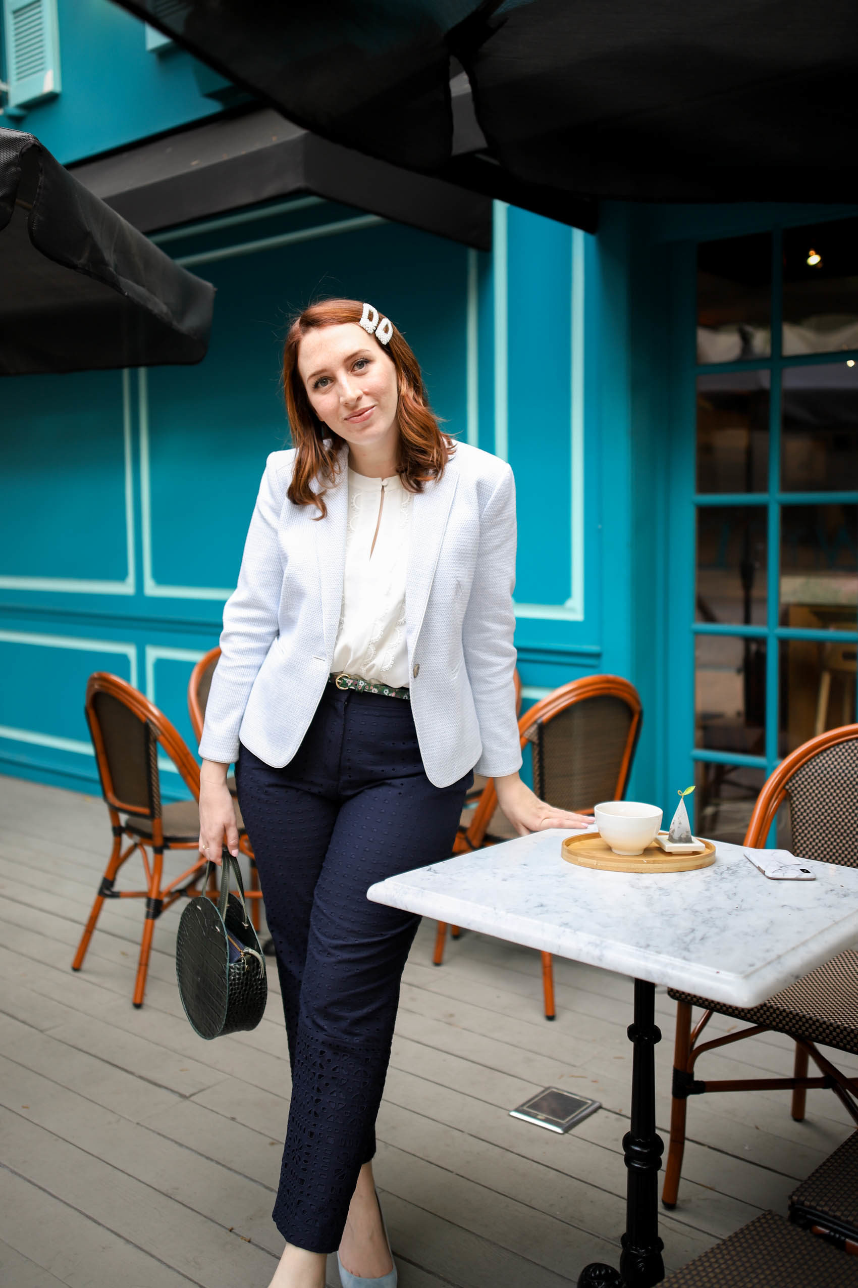 Full-Time Blogger Schedule if You Also Work Full-Time | Spring Work Outfit | Spring Workwear Inspiration #blog #blogging #blogger #spring