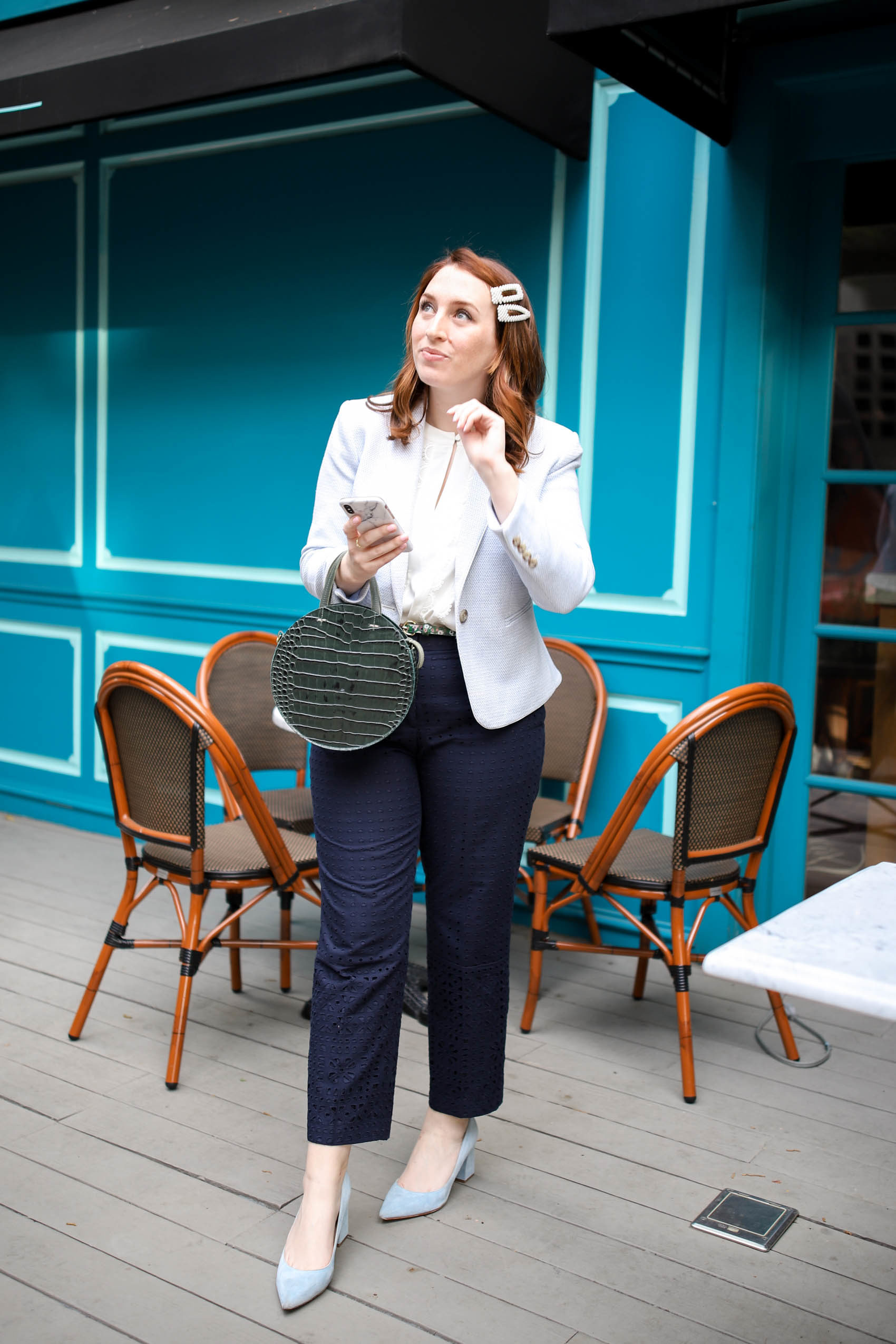 What is it Like to Be a Blogger with a Full-Time Job | Blogger Daily Schedule | Work Look | Workwear Outfit via Glitter & Spice #blog #workwear #workinspo