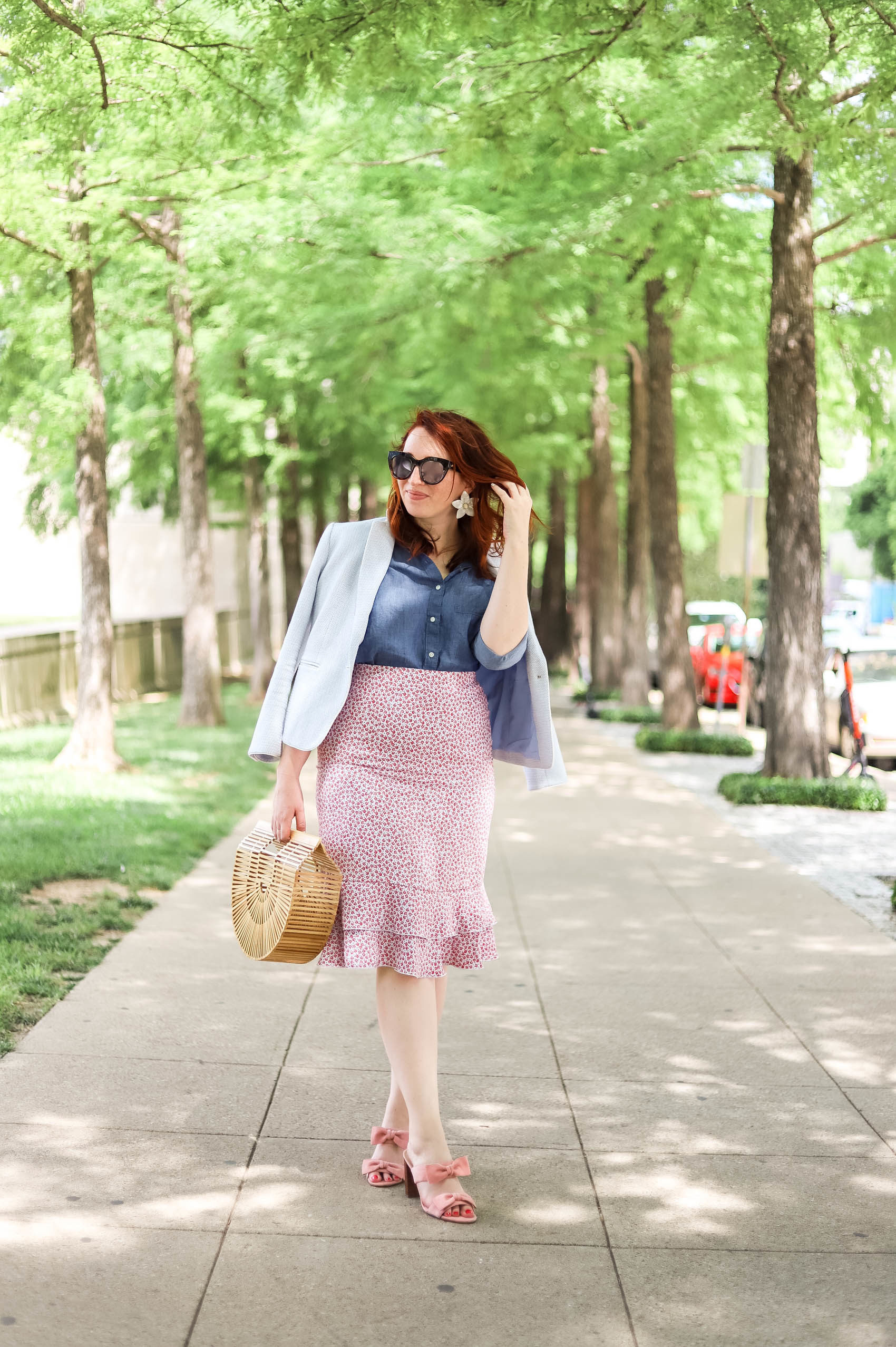 Summer Work Style | Summer Work Clothes Ann Taylor | How to Style a Blazer | How to Wear a Blazer | Fourth of July Outfit | Business Casual Outfit #womensfashion #summerstyle #fourthofjuly #outfitideas #summersales #fourthofjulyoutfits #fashion #style