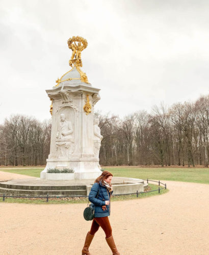 Tiergarten in Winter   What to wear to Berlin in the winter   Blogger shares Berlin Travel Guide