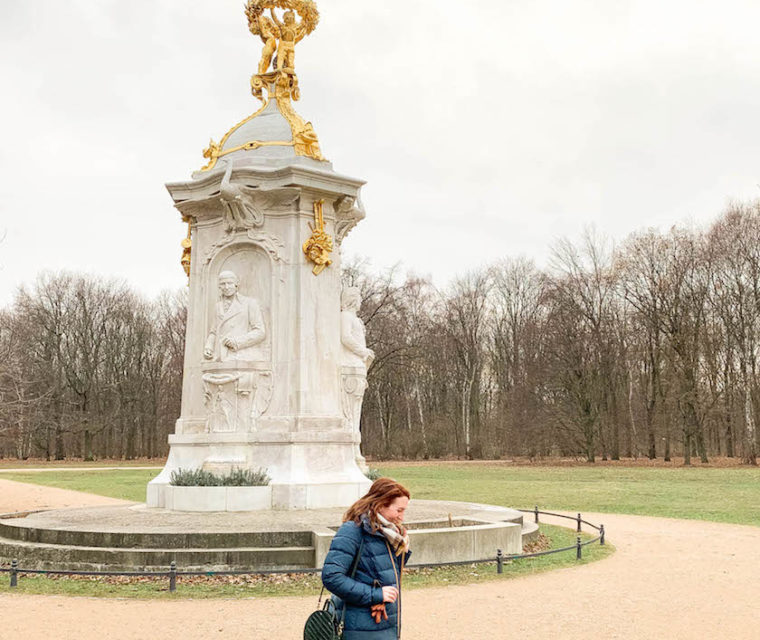 Tiergarten in Winter | What to wear to Berlin in the winter | Blogger shares Berlin Travel Guide
