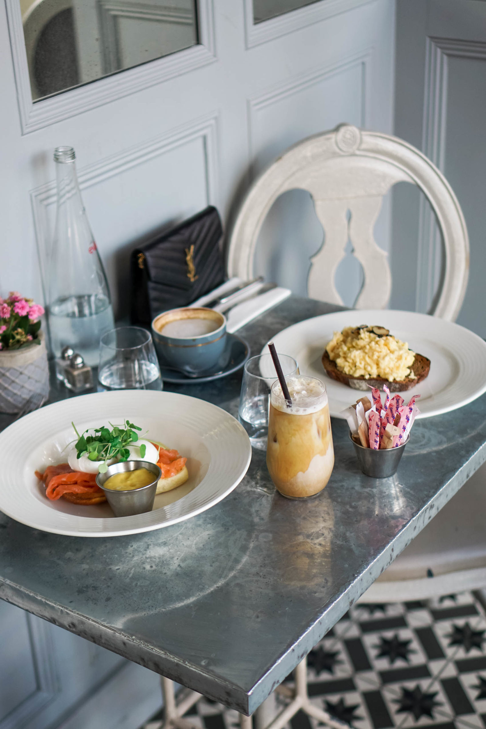 Best brunches in London | Where to eat in London | Aubaine Cafe in Selfridges London