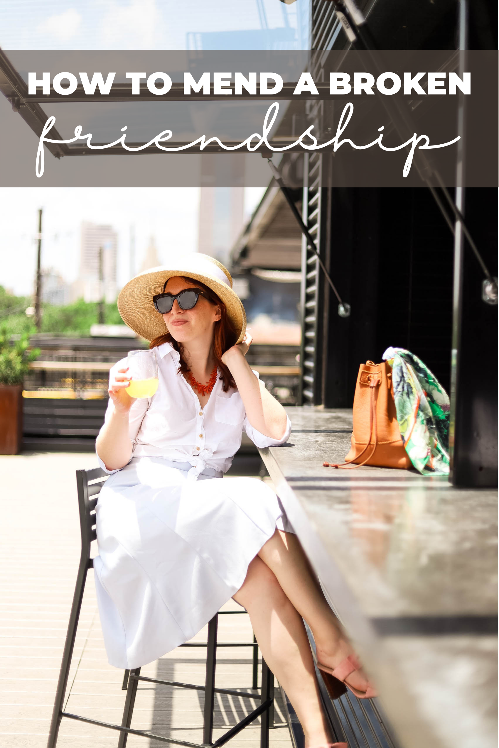 How to mend a broken friendship Pinterest graphic