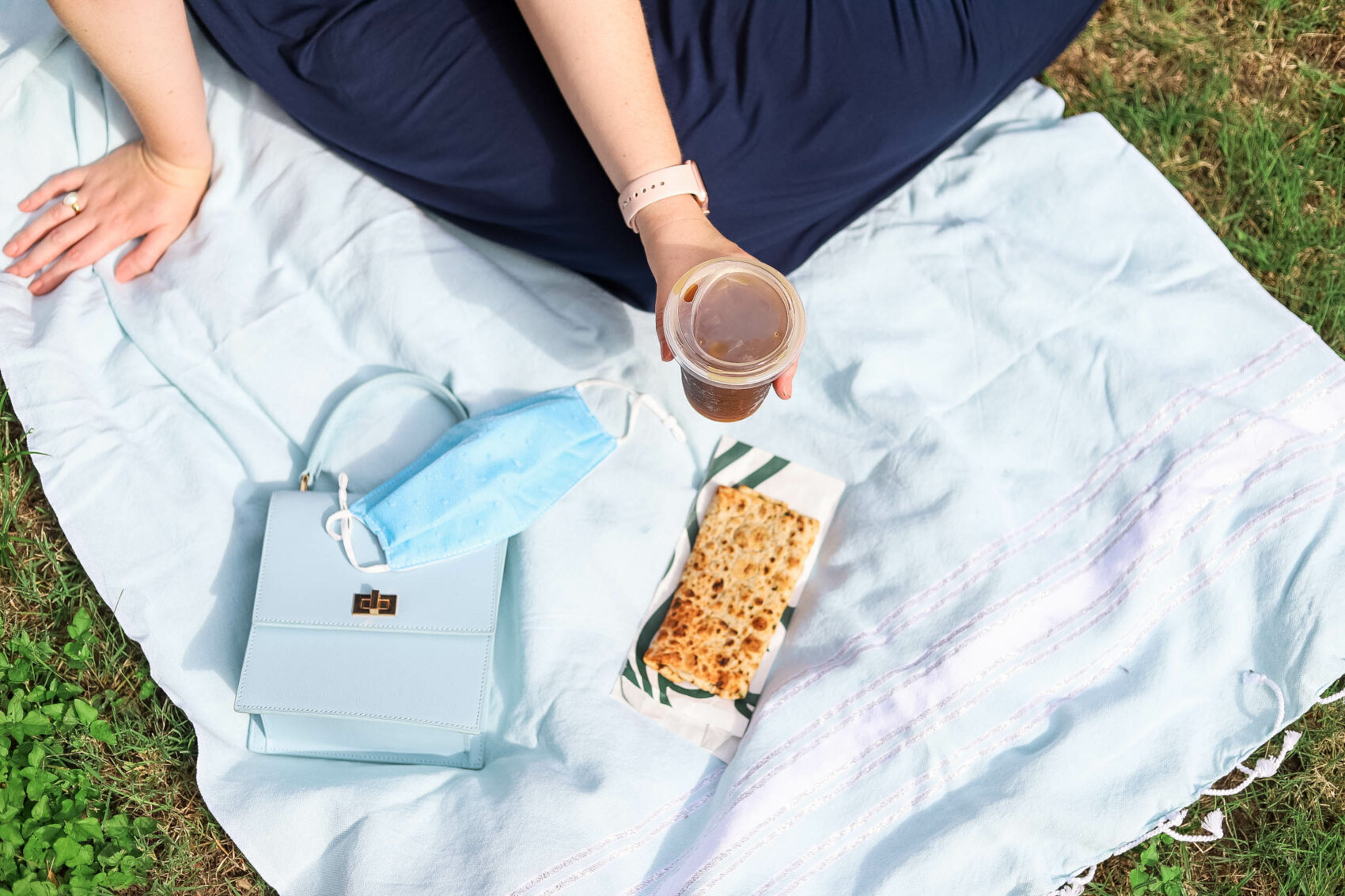 What to bring on a breakfast picnic | Starbucks Spinach, Feta & Cage-Free Egg White Wrap