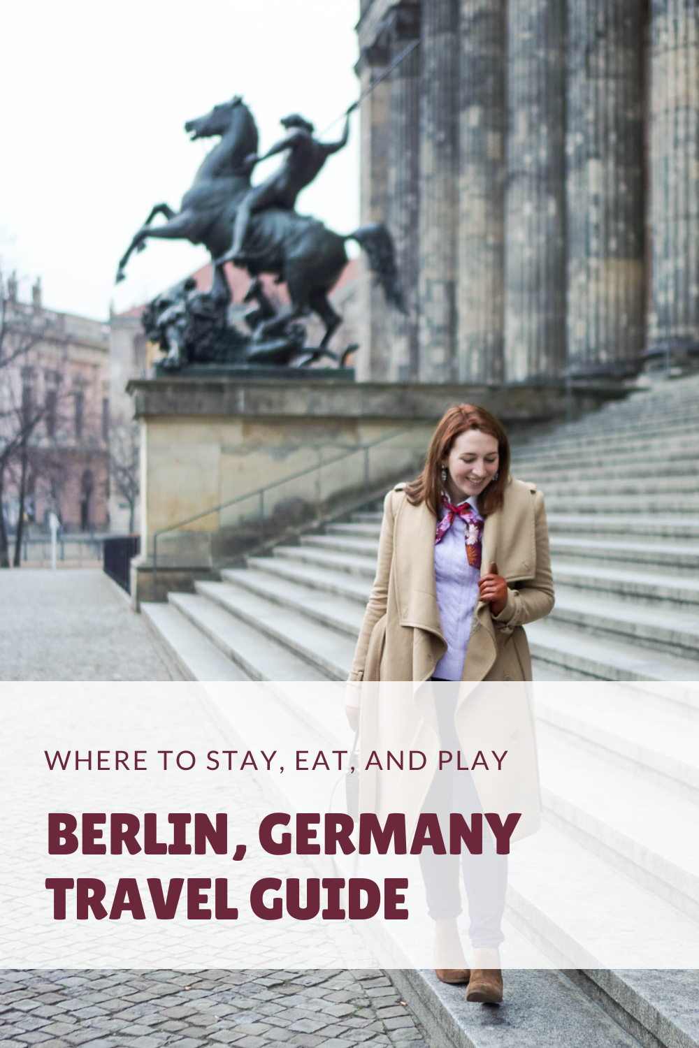 Christmas in Berlin: a Travel Guide Pinterest image