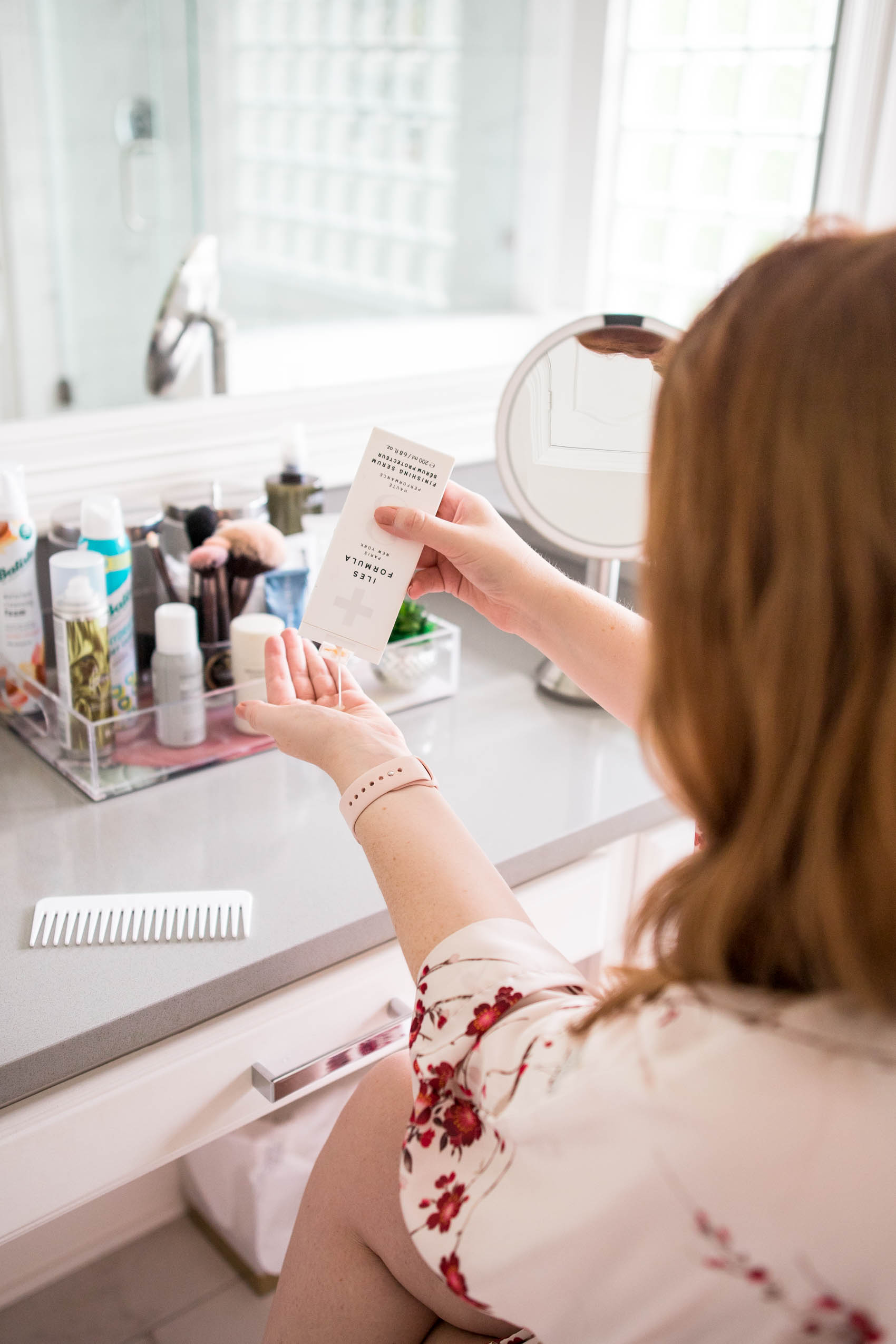 How to use Iles Formula serum as part of your haircare routine