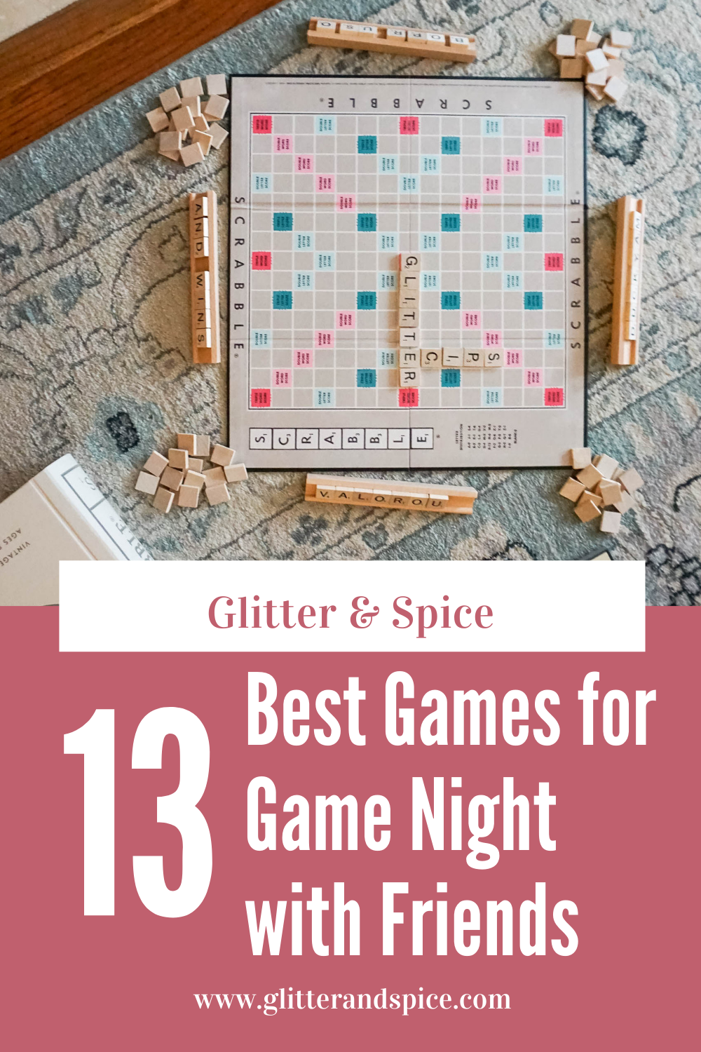 13 best games for game night with friends Pinterest image